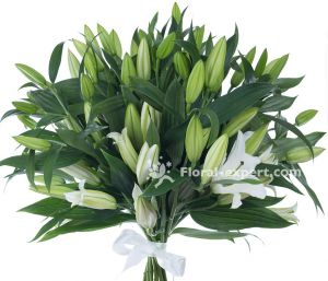 BOUQUET OF 17 LILIES
