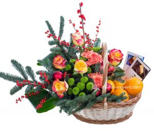 Christmas basket
