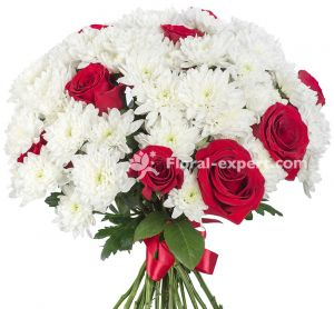 Rose & Chrysanthemum Bouquet